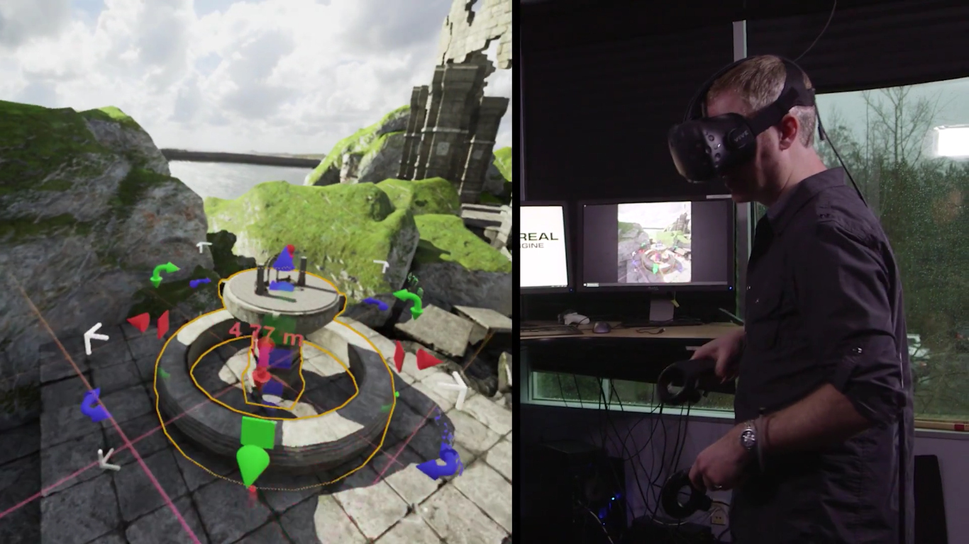 Unreal Engine Will Soon Let You Build VR inside VR